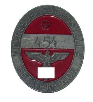 11: Peenemunde Worker Access Badge
