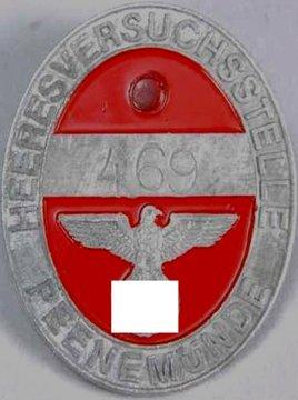 12: Peenemunde Worker Access Badge