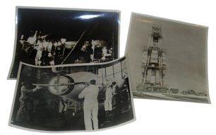 20: Lot of Three 1958 Titan Rocket Photographs