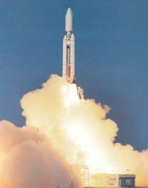 21: Lot of 2 Titan 4 Rocket Lithographs