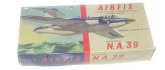 2001: Airfix 1950's Blackburn N.A. 39 Plastic Model Kit