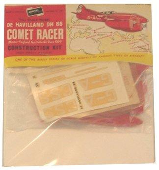 2005: Airfix 1950's DeHavilland DH88 Comet Racer Plasti