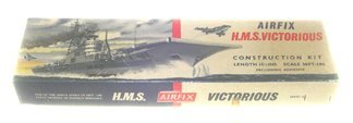 2010: Airfix 1950's H.M.S. Victorious Aircraft Carrier