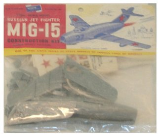 2016: Airfix 1950's Russian Jet Fighter MIG 15 1:72 Pla