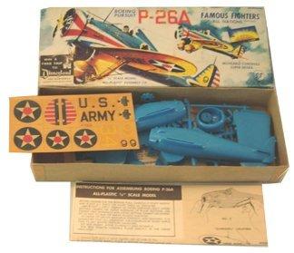 2026: Aurora 1950's Boeing Pursuit P-26A 1:4 Plastic Mo