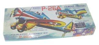 2027: Aurora 1950's Boeing Pursuit P-23A 1:4 Plastic Mo