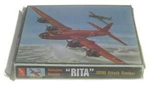 2580: AMT 1970's Nakajima Renzan 'Rita' 18SHI Attack Bo
