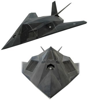 459A: Lg Model F-117 Stealth Fighter Plane