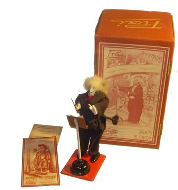 9026: Paya Orchestra Conductor 2006 Tinplate Toy