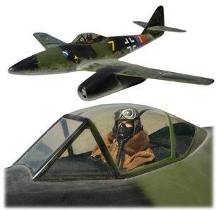 10441E: Lg Model WWII Messerschmitt ME262 Plane