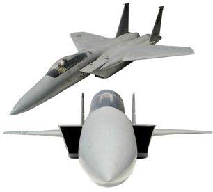 10465A: Lg Model F-15Plane