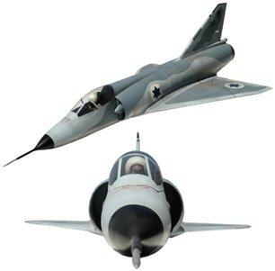 10465C: Lg Model Dassault Mirage Fighter