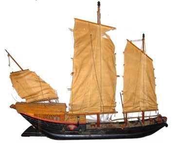 10701: Large Scale Model of a Chinese Junk