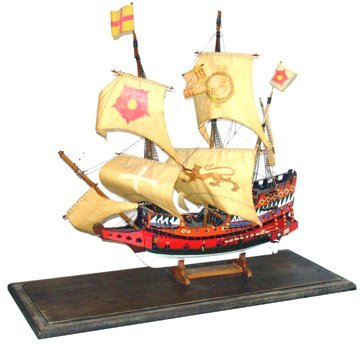 10703: Lg Model of a 3 Masted Caravel
