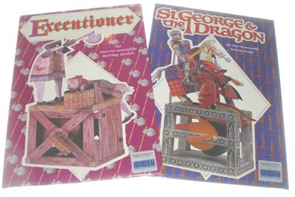 18986I: 2 Paper Automata Kits Executioner & St. George