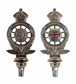 Early RAC Car Badge bearing membership num
