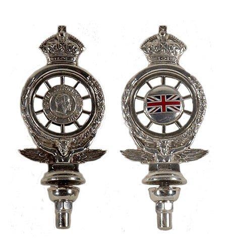 1: Early RAC Car Badge bearing membership num