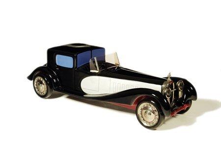 7: 1931 Bugatti  Jim Crow Decanter complete w
