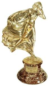 """31: """"The Whisper"""" Display Bronze after Charle"""