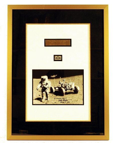 97: License Plate Apollo 15 Lunar Rover Drive