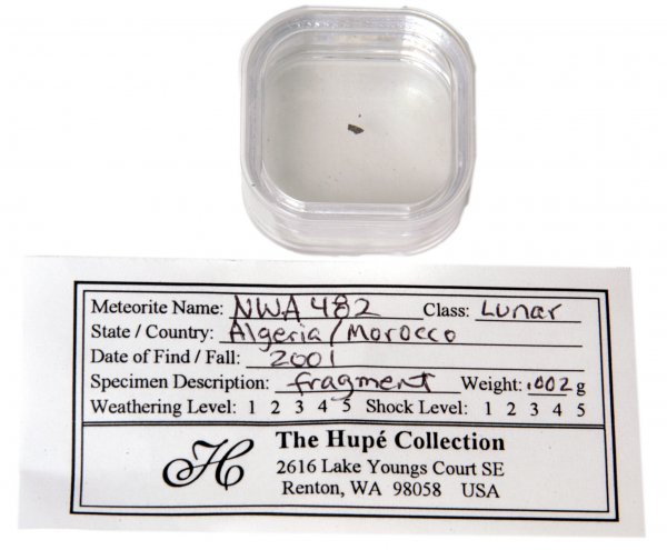 1: Lunar Meteorite Fragment