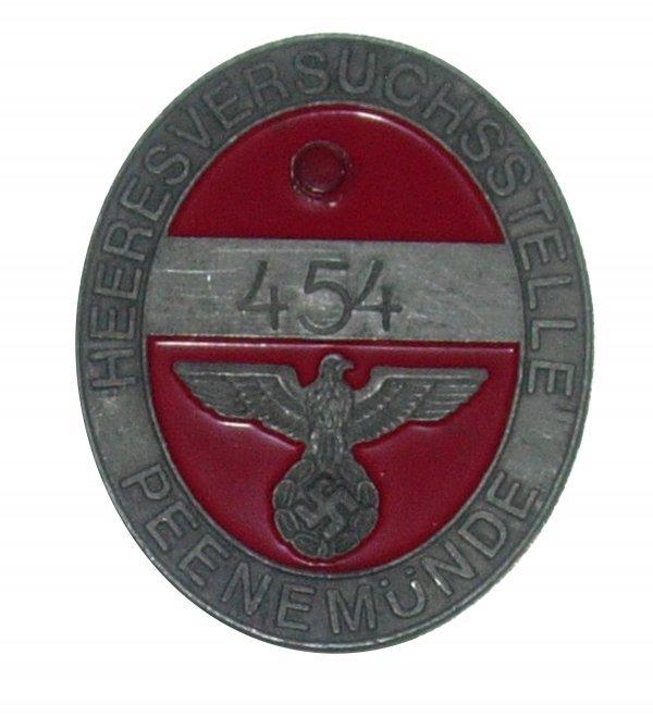 23: Peenemunde Worker Access Badge
