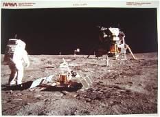 418: Lot of 19 Apollo 11 NASA Photographs Incl. Red #'s