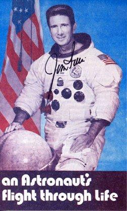 468: Apollo 15 Astronaut James Irwin Autograph