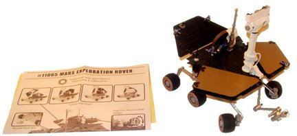 9: Mars Exploration Rover Model