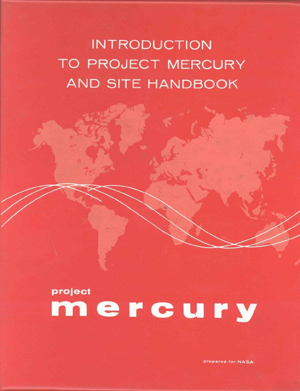 25: NASA 1960 Book Introduction to Project Mercury & Si
