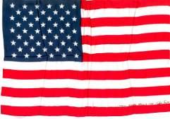 432 Apollo Flown United States Flag  12 x 775 Silk
