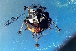 438 Apollo Astronaut David Scott Autograph on a color