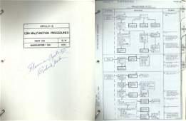 539 Apollo 12 Gordon FLOWN CSM Malfunction Procedures