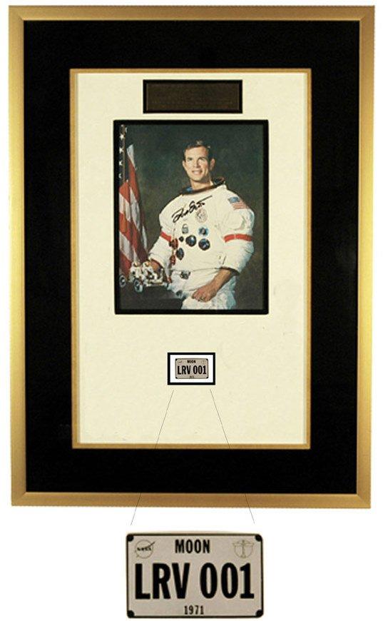 631: Apollo 15 Lunar Rover License Plate