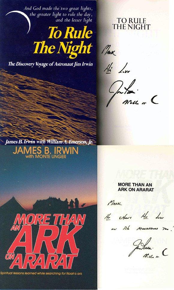 655: Apollo 15 Astronaut James Irwin Autographs