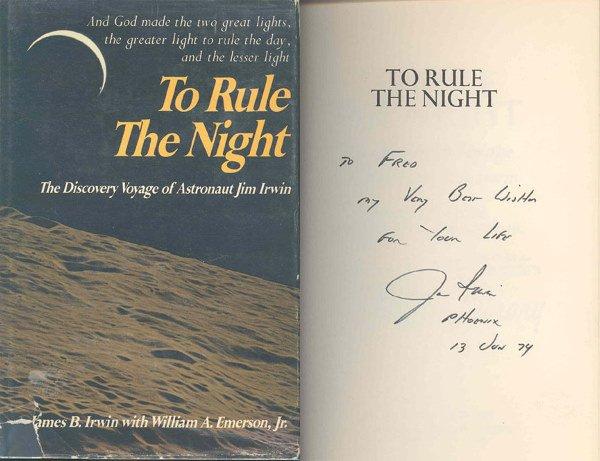 657: Apollo 15 Astronaut James Irwin Autograph