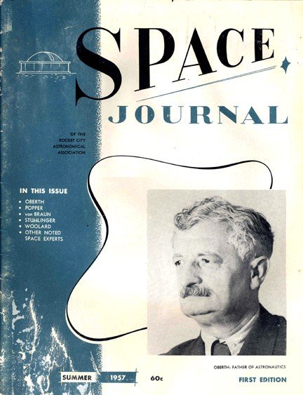 "100056: 1957 1st Edition ""Space Journal"" Magazine RARE!"