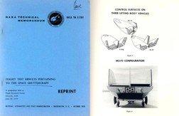 100131: NASA Lifting Body HL 10 M2 F3 & X 24A Flt Report