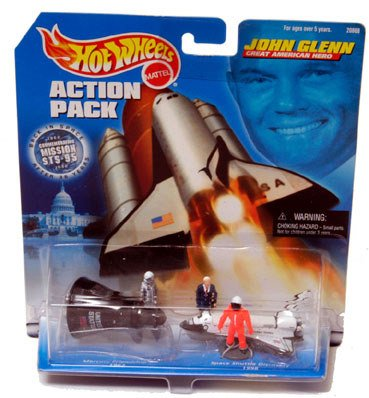 90079: Astronaut John Glenn by Hot Wheels An unopened b