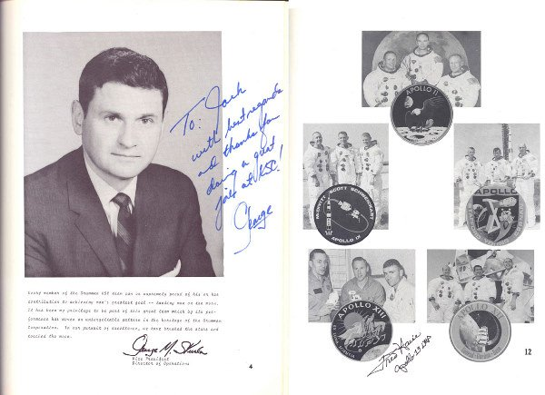90086: Mercury Astronaut Scott Carpenter Autograph on t