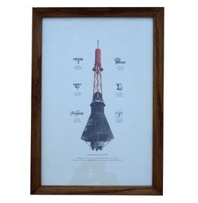 Mercury Spacecraft Print