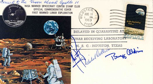 407: Flown Apollo 11 Cover