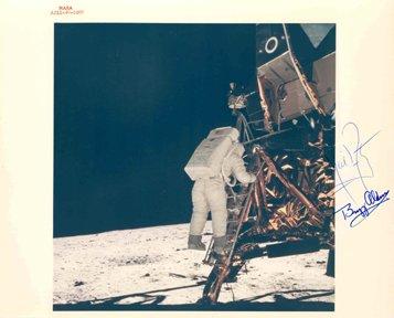 """415: Apollo 11 Neil Armstrong and Edwin """"Buzz"""" Aldrin A"""