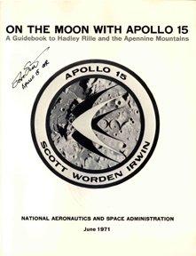 "568: Apollo 15 David Scott Autograph om ""On the Moon wi"