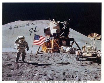 577: Apollo 15 James Irwin Autograph