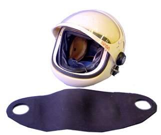 731: Clamshell  Helmet Used by NASA