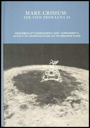 """1977, """"Mare Crisium: The View From Luna 23"""