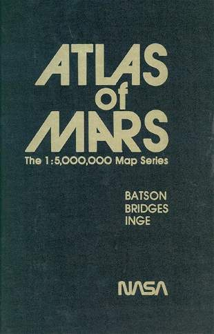 1978, 2 Planetary Atlas Mars & Mercury