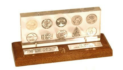 145: Flown Gemini Medallion Series Complete