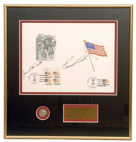 196: FLOWN Sterling Silver Gemini Medallion